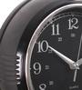 @ Home Black Plastic 10.1 x 2.7 x 10.1 Inch Metric Wall Clock