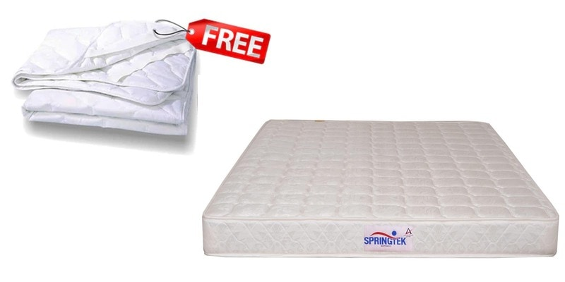 Healthpaedic 5 Inches Thick Mattress (FREE Mattress Protector) by Springtek Ortho Coir
