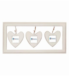 22.8 X 1 X 11.3 Inch Danbury Solid Wood Photo Frame In White Color