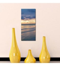 999Store Sea N Sky in Sync 2-frame Wall Painting 999Store at pepperfry