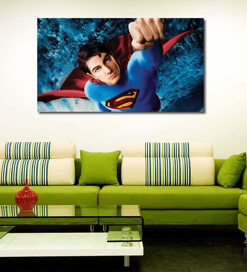 Vinyl Superman Wall Sticker by 999Store