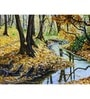 Hashtag Decor A Stream Engineered Wood 30 x 20 Inch Framed Art Panel