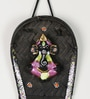 Multicolour Terracotta Ganesh Wall Hanging by Aapno Rajasthan