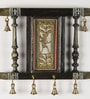 Aapno Rajasthan Multicolour Wooden Beautiful Painted Key Holder