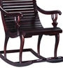 Acklom Rocking Chair in Passion Mahogany Finish by Amberville