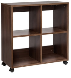 Admire Book Shelf In Acacia Dark Matt Finish By Debono