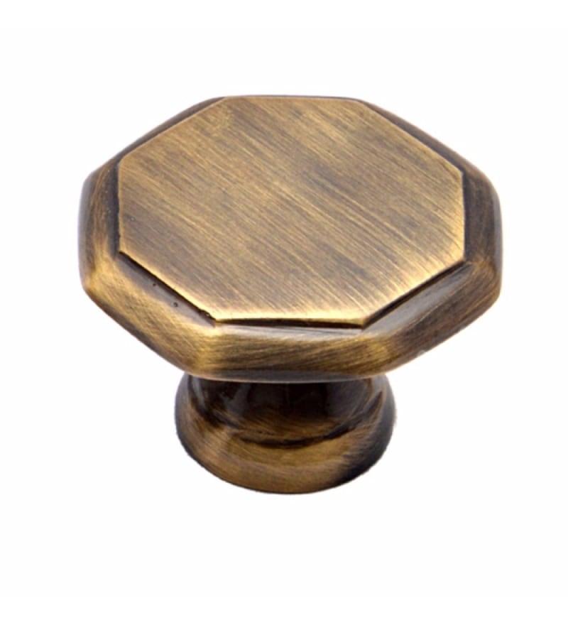 Adonai Hardware Jezer Brass 1.4 x 1 Inch Cabinet Knob