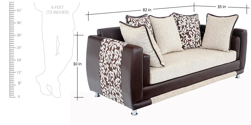 Buy aesthetic sofa set 3 2 seater with divan by for 2 seater divan