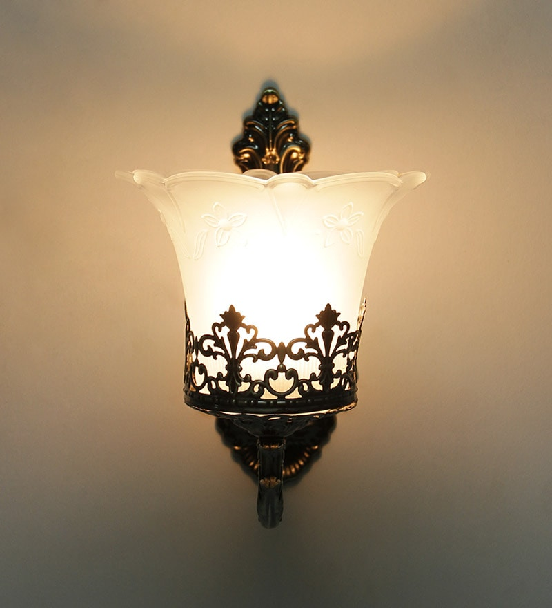 Antique Lamps Glass