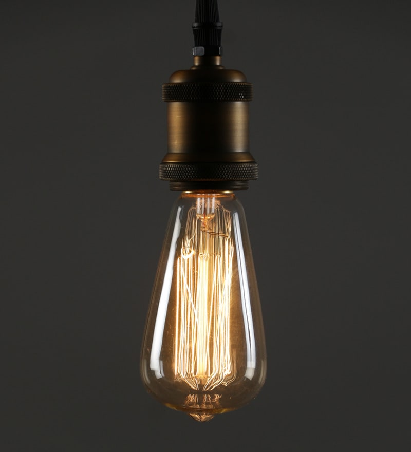 Transparent Glass Filament Lamp by Aesthetics Home Solution
