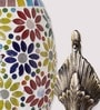 Floral Oval Upward Wall Mounted Light by Aesthetic Home Solutions