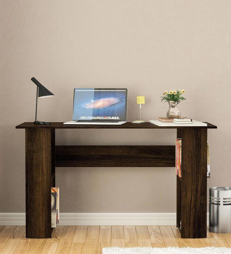 Airi Study Table in Rosewood Finish by Mintwud