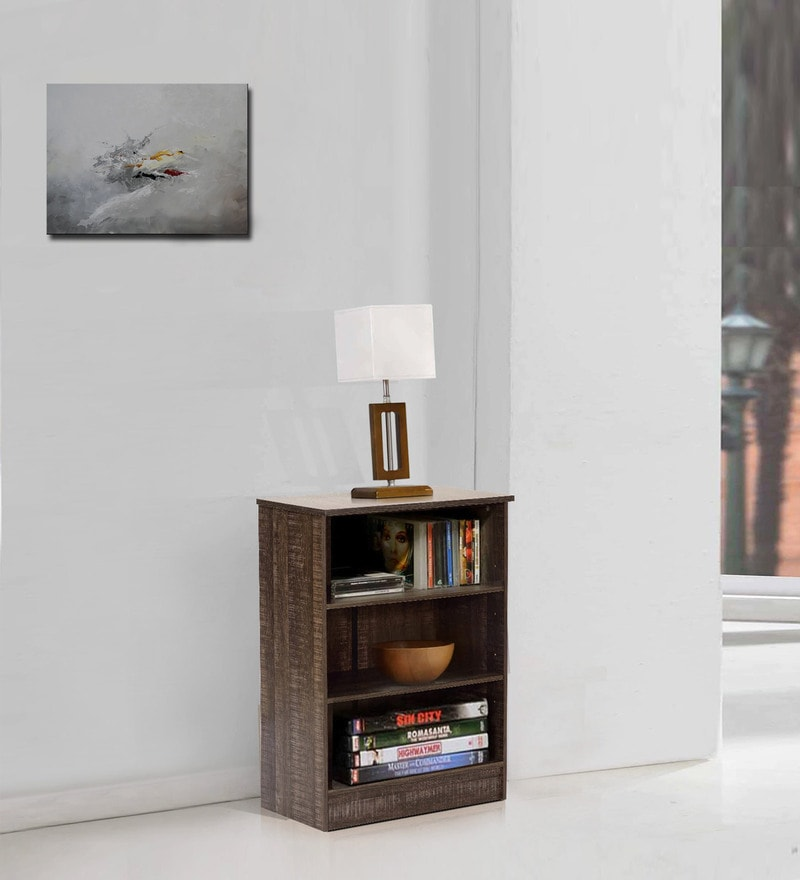 Akira Three Tier Book Shelf in Wenge Finish by Mintwud