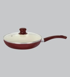 Alda 10.2 Inch Ceramic Coating Fry Pan With Lid