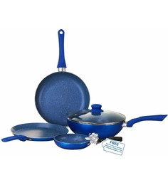 Kitchen cookware buy kitchen cookware online in india at for Kitchen set aluminium royal