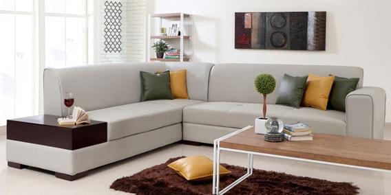 L Shaped Sofa Buy L Shaped Corner Sofa Sets Online At Best Prices