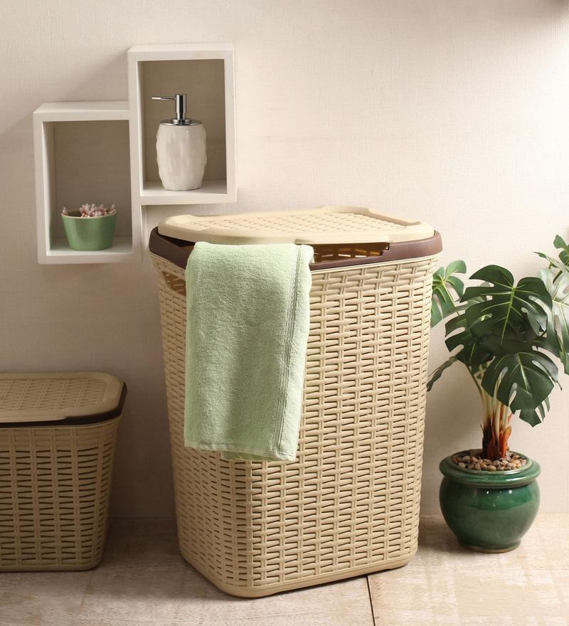 All Time Plastic Beige 50 L Cresta Basket