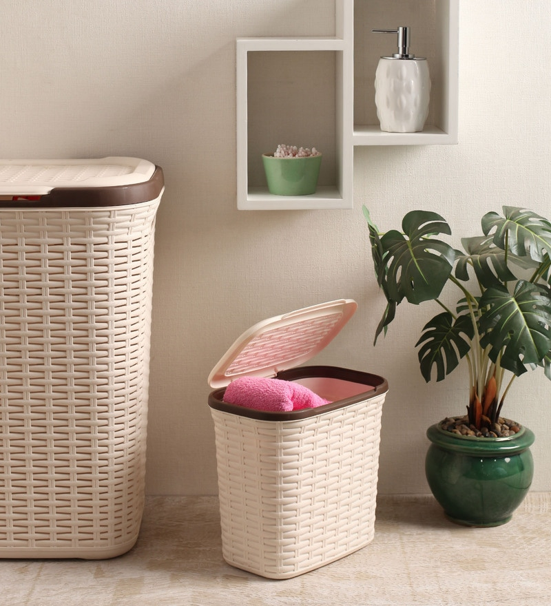 All Time Plastic Cream 7 L Cresta Basket