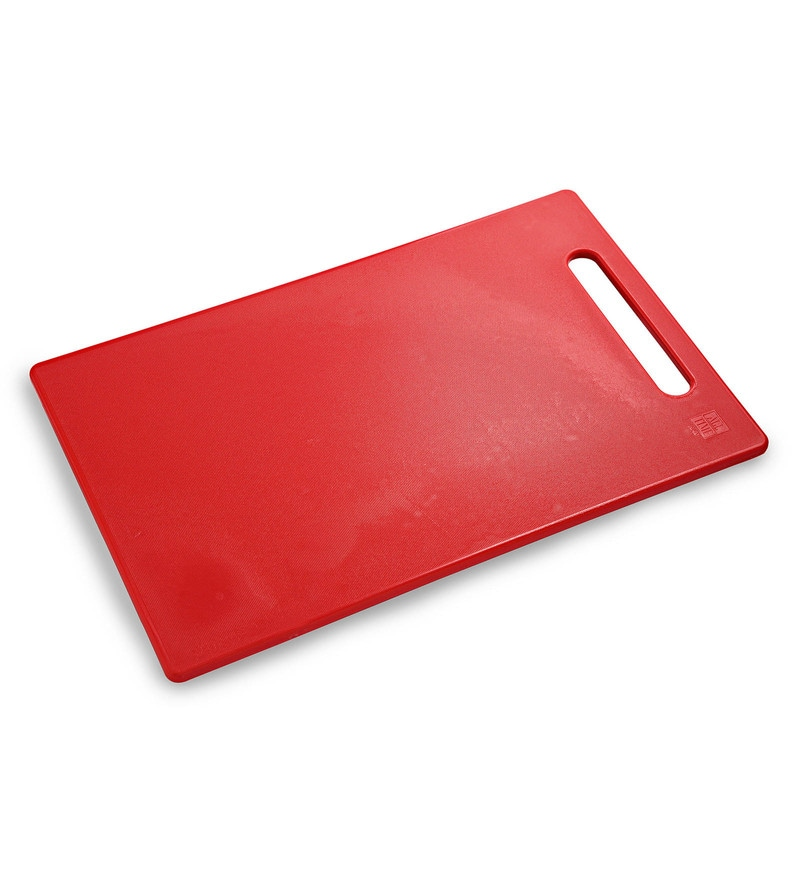 All Time Red Plastic Chopping Board