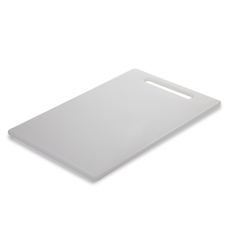 All Time White Plastic Chopping Board