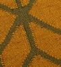 Carpet Overseas Yellow Green Jute 24 x 36 Inch Kilim Designer Dhurrie