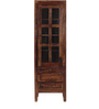 Richmond Book Case in Provincial Teak Finish by Woodsworth