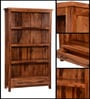 Logan Book Shelf in Warm Walnut Finish by Woodsworth