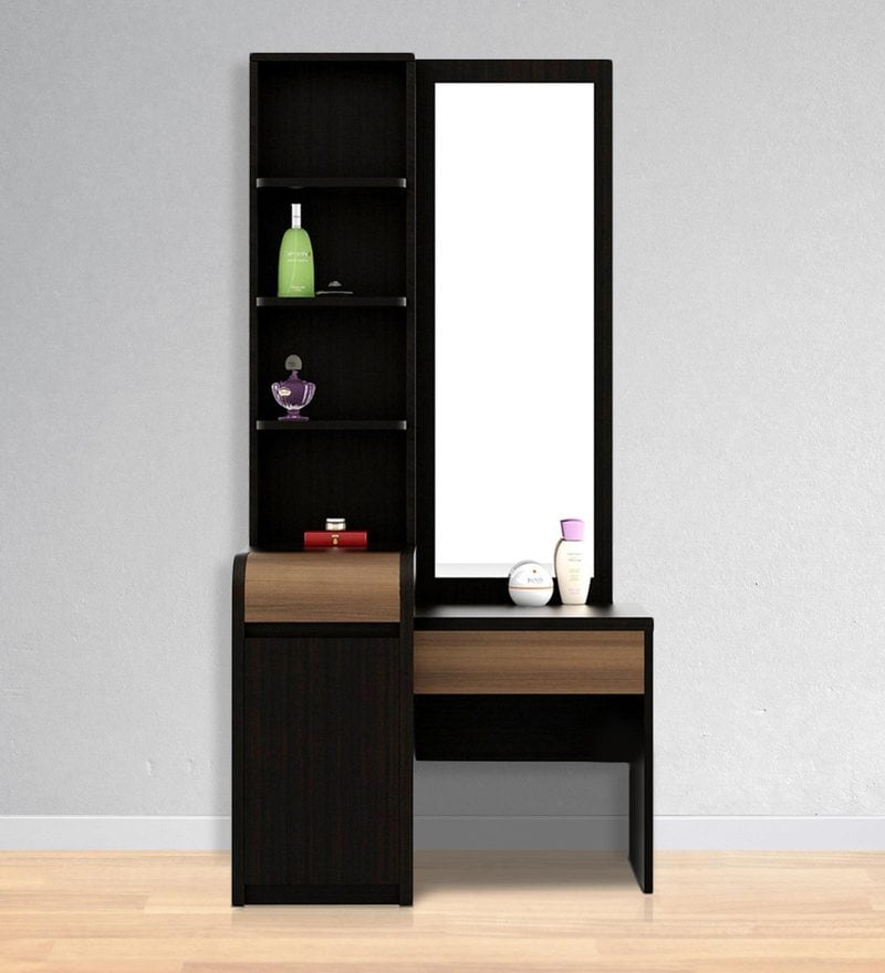 Amazon Dressing Table in Wenge Finish by Spacewood