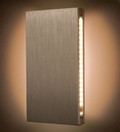 Anemos Brown Wood Wall Light