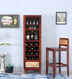 Anitz Bar Unit In Dual Tone Finish