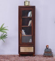 Anitz Book Case In Dual Tone Finish By Woodsworth - 1613040
