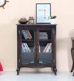 Anne Book Case In Warm Chestnut Finish By Amberville