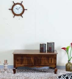 Anne Trunk In Provincial Teak Finish By Amberville