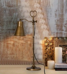 Antique Brass Iron Table Lamp