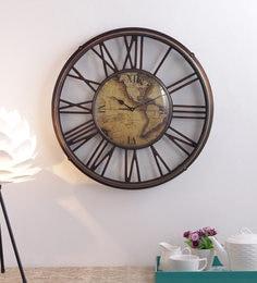Antique Brass Vintage Wall Clock
