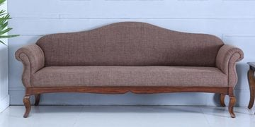 Anne Three Seater Sofa In Provincial Teak Finish