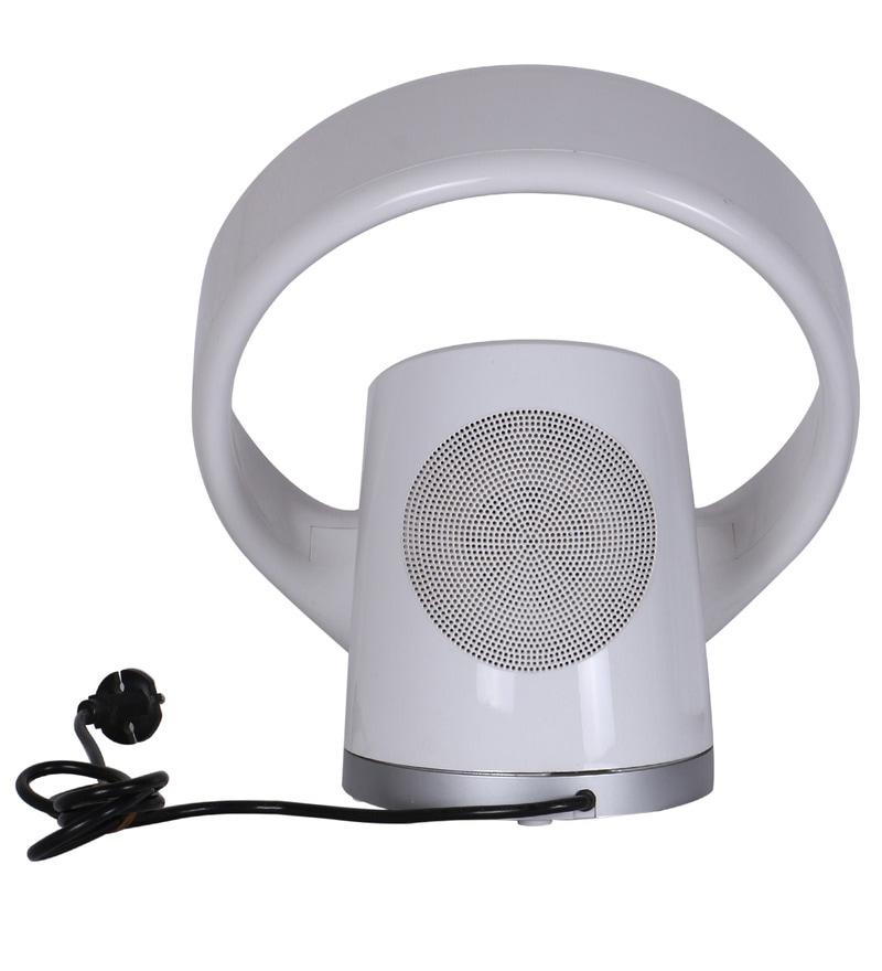 Designer Wall Mounted Fans : Buy anemos iris white designer wall mounted fan online