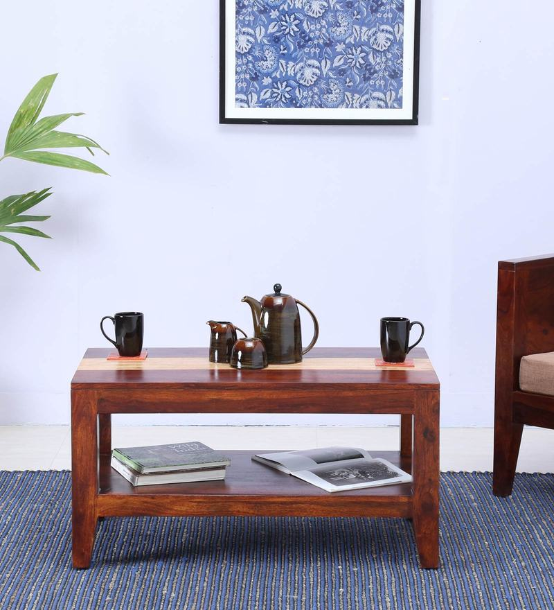 Anitz Coffee Table in Dual Tone Finish by Woodsworth