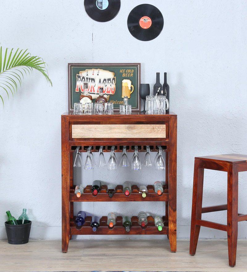 Anitz Wine Rack in Dual Tone Finish by Woodsworth