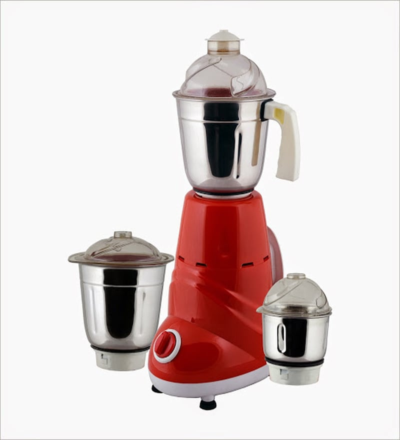 AnjaliMix Zobo Red Mixer Grinder - 600 W