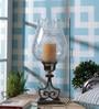 Anasa Transparent Glass Hurricane Candle Holder