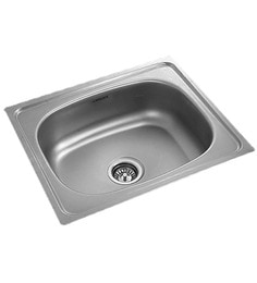 apollo stainless steel single bowl kitchen sink as12 - Kitchen Steel Sinks