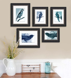 Art Street Synthetic Wood 29 X 22 Emporio Rich Photo Frame - Set Of 5
