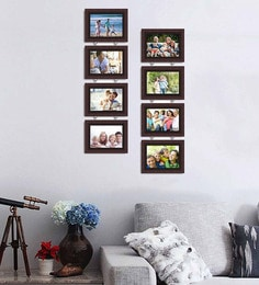 Art Street Synthetic Wood 31 X 20 Charming Chain Photo Frame - Set Of 8 - 1605947