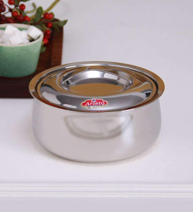 Aristo Daily Silver Stainless Steel 1 L Insulated Casserole