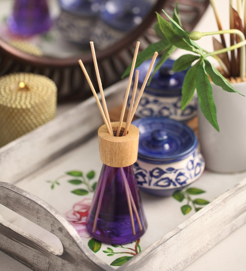 French Lavender Premium Reed Diffuser by Aroma India
