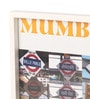 Art Ka Keeda Glass 9 x 9 Inch My Mumbai Station Names Framed Wall Art