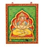Art of Jodhpur Multicolor MDF  Ganesha Wall Hanging