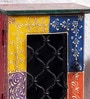 Multicolor Solidwood Handpainted Rajputana Key Holder by Art of Jodhpur