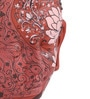 Art Tantra Multicolour Resin with Acrylic Paint Pink Lotus Mask